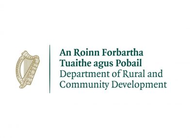 Clonmany Community Centre - Department of Rural and Community Development Logo