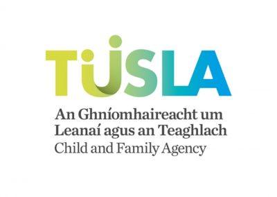 Clonmany Community Centre - Tusla Child and Family Agency Logo